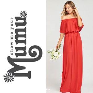 Show Me Your Mumu Hacienda Maxi Dress- L (New!)